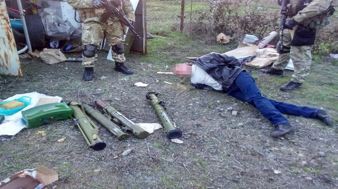 The SBU announced it captured a cell targeting Kherson Oblast.
