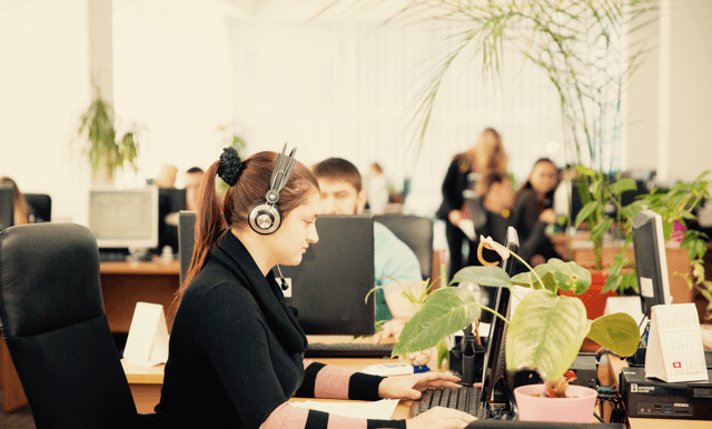 Control Pay worker in Kyiv office, Ukraine
