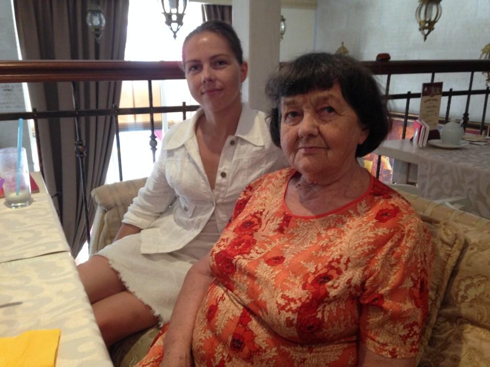 Nadiya Savchenko's mother and sister. Photo by :Washington Post