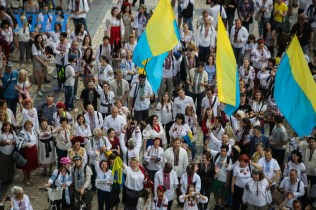 Vyshyvanka March in Kyiv, May 2016 (Image: UNN.com.ua)