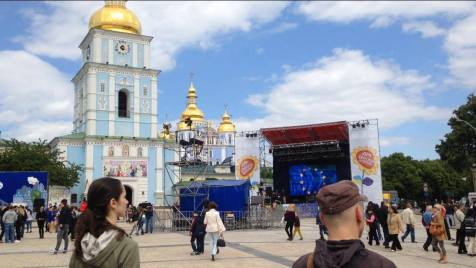 Days of Europe in Kyiv, Ukraine on 21 May 2016. Photos by: Euromaidan Press