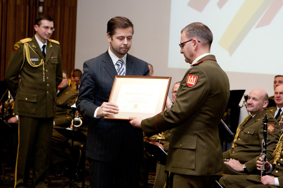 Dr. Rene Värk, Faculty of Law, Tartu University, has consistently been rated as one of the best visiting lecturers by the students. Photo from: baltdefcol.org
