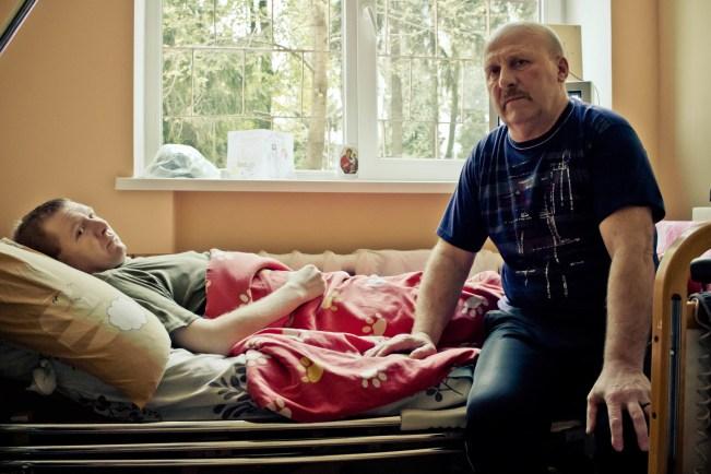 Roman and Father Mykola
