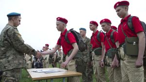 """""""Youth Army"""" troops organized by the Russian Defense Ministry (Image: RIA)"""