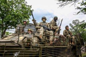 Soldiers of Ukraine's 79th Airmobile Brigade (Image: twitter.com/poroshenko)