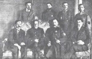 Government of UNR, Symon Petliura seated second from the left