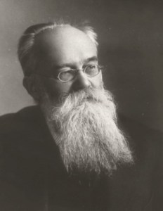 Mykhailo Hrushevsky, [Грушевський, Михайло; Hruševs'kyj, Myxajlo], 1866-1934. The most distinguished Ukrainian historian; principal organizer of Ukrainian scholarship, prominent civic and political leader, publicist, and writer. (Source: EncyclopediaOfUkraine.com)