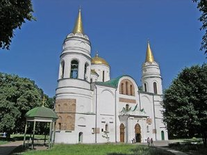 The Spaso-Preobrazhenskyi cathedral of 1030 in Chernihiv, Ukraine, is the oldest cathedral in Eastern Europe
