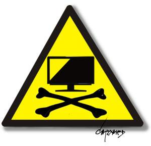 Russian TV propaganda (Image: novayagazeta.ru)