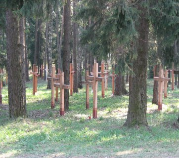 Kuropaty, the Soviet killing fields in Belarus, hide the remains of over 250 thousand victims of the communist regime (Image: memoramus.pl)