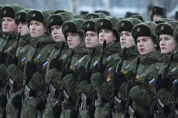 The Russian Army. Photo: social networks.