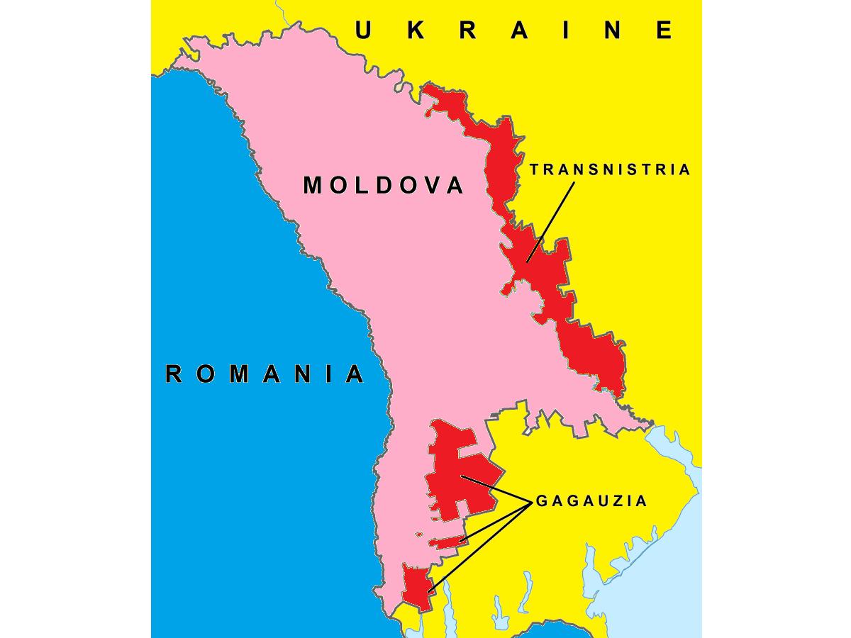 Imagini pentru gagauzia map