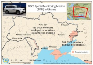 The 409 kilometers (254 miles) of the border between the occupied Ukrainian territories and Russia are not controlled by Ukraine and are used by Russian mercenaries and regular servicemen to smuggle weapons from the Russo-Ukrainian war back into Russia. (Image: Hanna Naronina, Euromaidan Press)