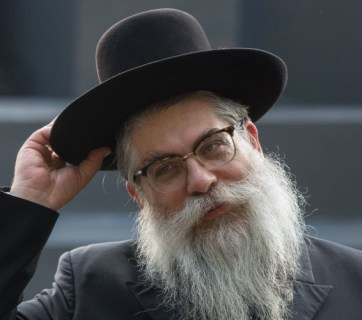 Yaakov Dov Bleich, the chief rabbi of Kyiv and Ukraine, and the head of the Union Of Jewish Religious Organizations of Ukraine (Image: UNIAN)