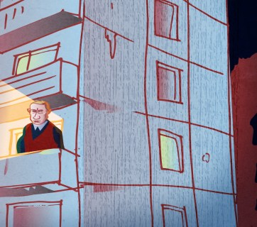 If Putin at 64 were the ordinary Russian: Living in a 24-square meter flat in a deteriorating high-rise apartment building (Image: OpenRussia.org)