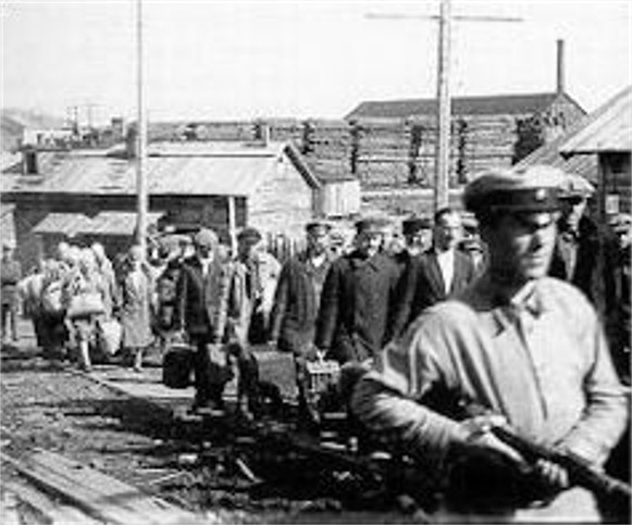 Image result for images of soviet gulag