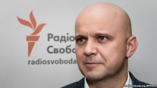 Yuriy Tandit, negotiator for the SBU Centre for the release of prisoners