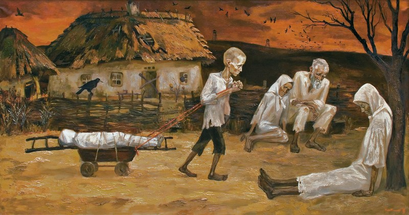 Nina Marchenko, The Last Road (Holodomor famine-genocide 1932-1933)