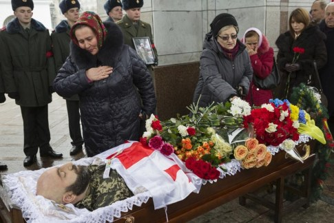 Donbas victim