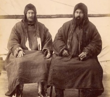 The Pomors, an ethnicity composing modern-day Russians. Photo circa 1900.