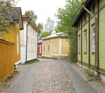 Houses in Rauma, Finland (Image: Wikipedia)
