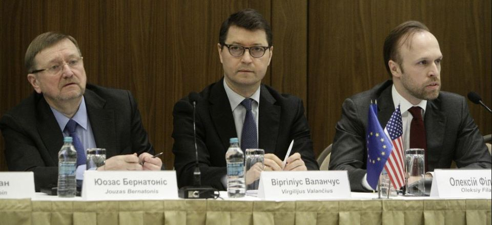 """The international conference """"Constitutional Reform: Promoting an Independent, Accountable, Transparent and Efficient Judiciary"""" was held on February 18, 2016 in Kyiv. Photo: justicereformukraine.eu"""