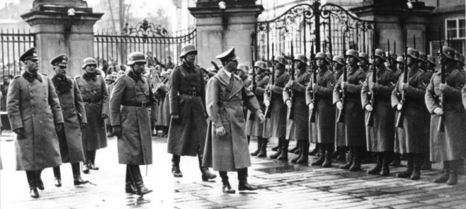 Hitler in Prague, 15 March 1939