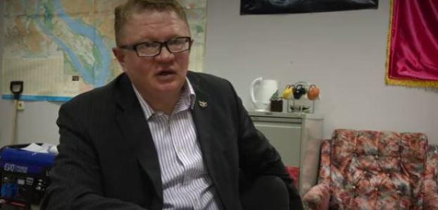 Serhiy Tiunov. Photo: Shapshot from video by Novaya Gazeta