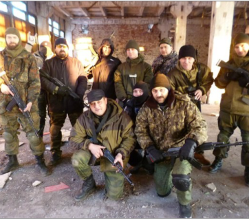 Swedesh terrorists training in Russia (Image: avmalgin.livejournal.com)