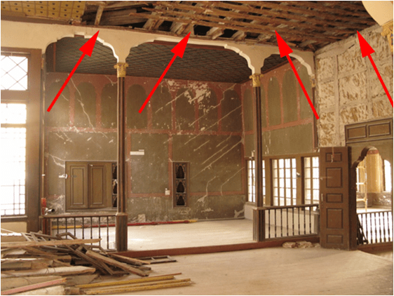 The Khan's Palace has been deteriorating due to negligence, corruption, incompetence or outright malicious intent of the Russian occupation authorities in Crimea. (Image: qha.com.ua)