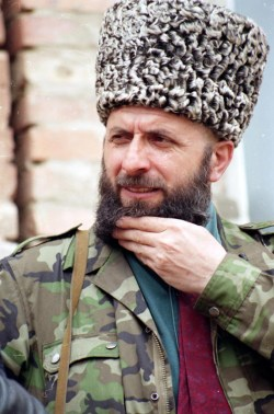 Zelimkhan Yandarbiyev, the acting president of the breakaway Chechen Republic of Ichkeria (1996-1997), assassinated in 2004 by Russia's GRU.