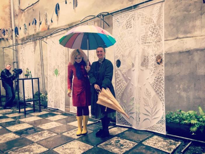 """""""Something interesting"""" exhibition in Lviv. Photo: Dariya Alyoshkina's fb page"""