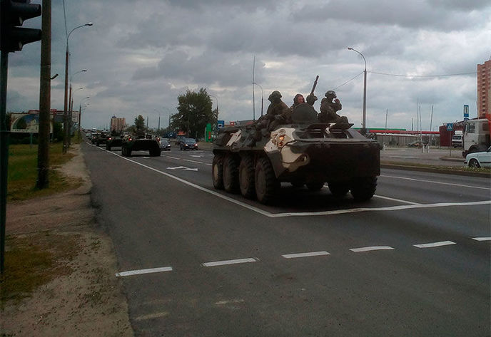 Is it beginning in Belarus? 'Little green men' appear ...