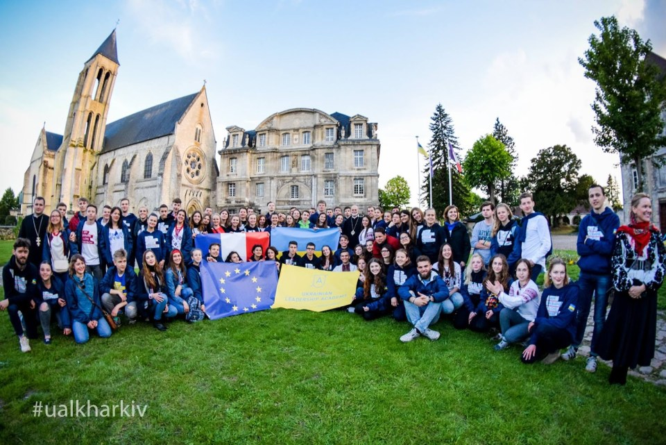 The Ukrainian Leadership Academy traveled to the EU