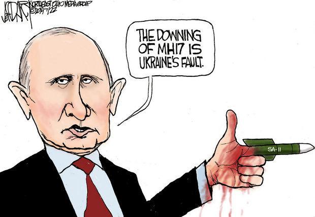 Cartoon by Jeff Darcy, 22 July 2014