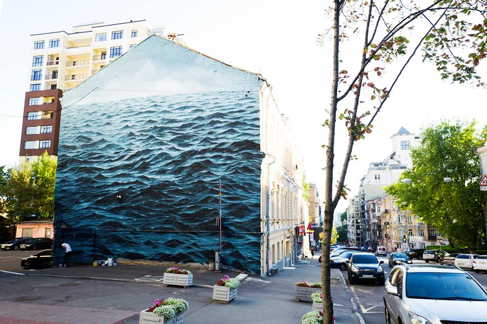 """Ukrainian Black Sea Author: Jake Aikman (South Africa) """"The artist intuitively works with scale, focus and repetition to create pictures which cover mastery and ambiguity of an isolated moment."""""""