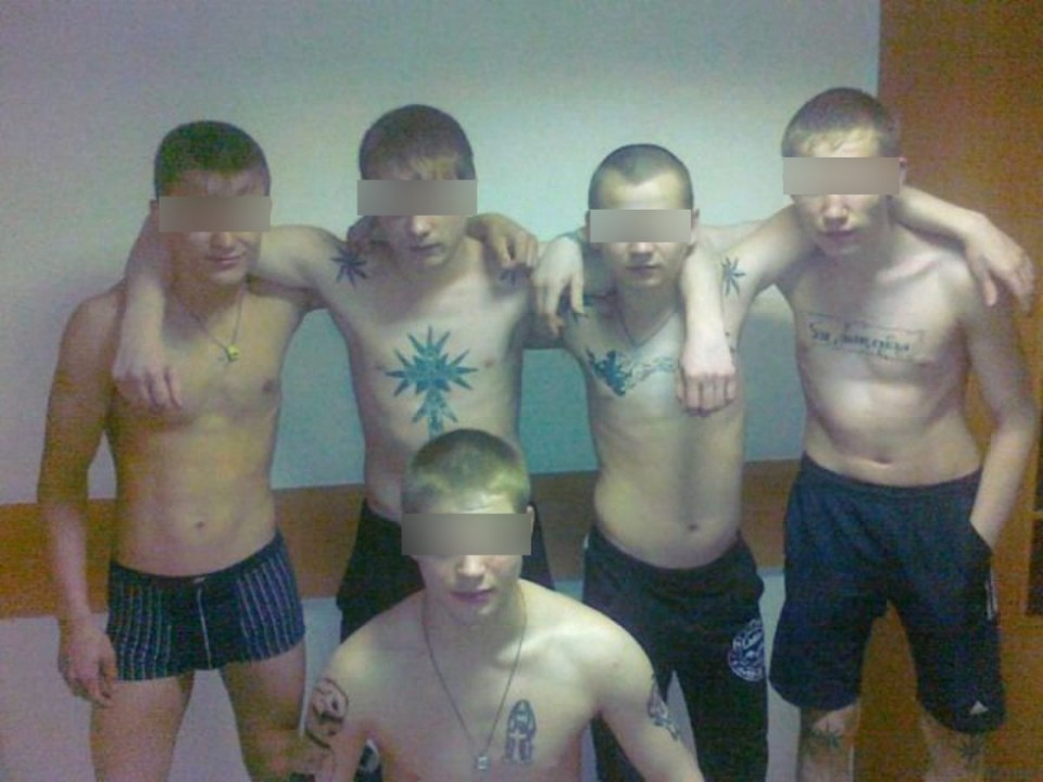 Teenage gangsters in Russia (Image: gorodkirov.ru)