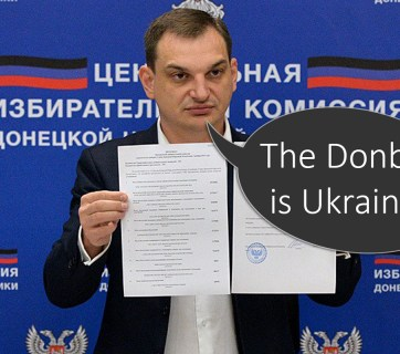 Former head of so-called DNR Central Electoral Commission Roman Lyagin, one of masterminds behind the 2014 separatist Donetsk referendum. Photo: FB Roman Lyagin