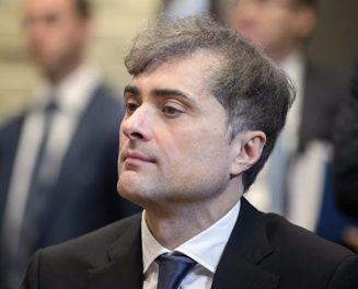 Kremlin's aide Vladislav Surkov who supervises the Russian separatist projects on the occupied territories of Georgia and Ukraine. Photograph: theins.ru
