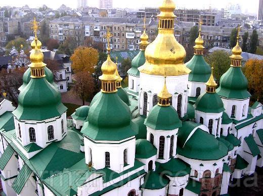 Kyiv Saint Sophia Cathedral Photo: ukrmandry.com.ua