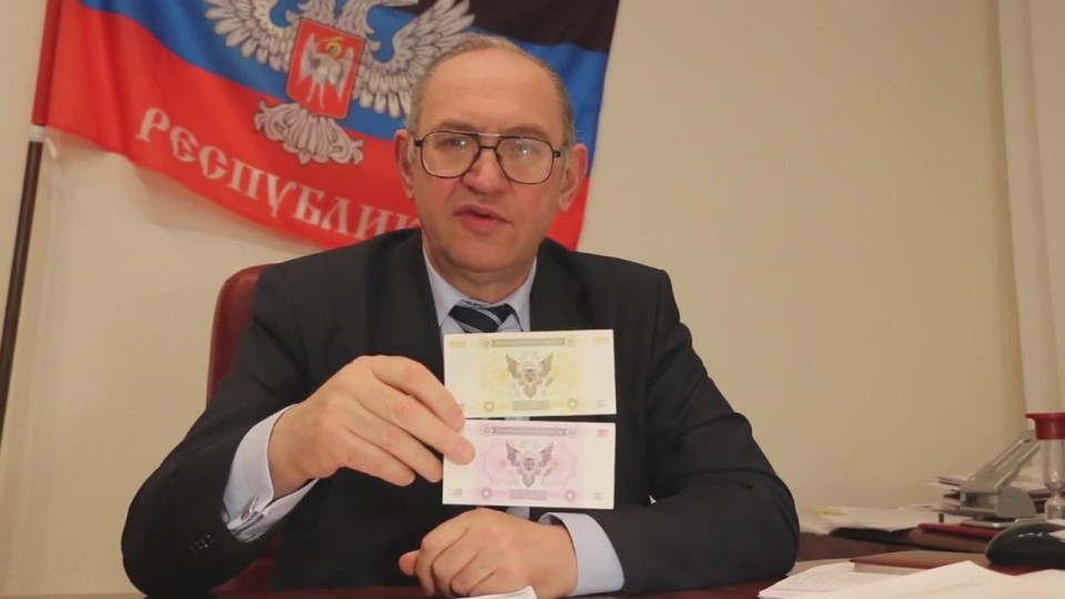"DNR ""MP"" Boris Litvinov, head of ""DNR Communist party"". Photograph: derzhava today"