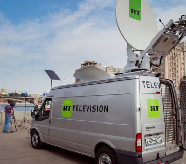 rt van in moscow