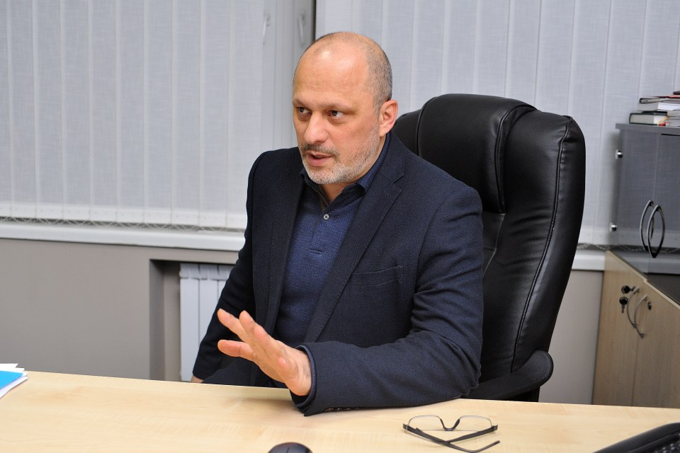 Zurab Alasania, the Head of the Managing Board of the Public Broadcaster Photo: Public Broadcasting Company of Ukraine