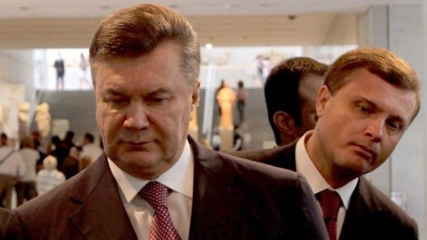 Viktor Yanukovych and former head of Yanukovych's administration Serhiy Lyovochkin blame each other for involvement in the dispersal of protestors on the Maidan
