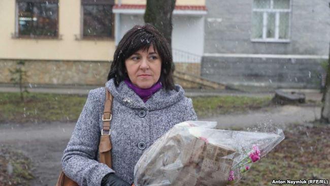 Oksana Zakhtey. Photo: Anton Naumlyuk