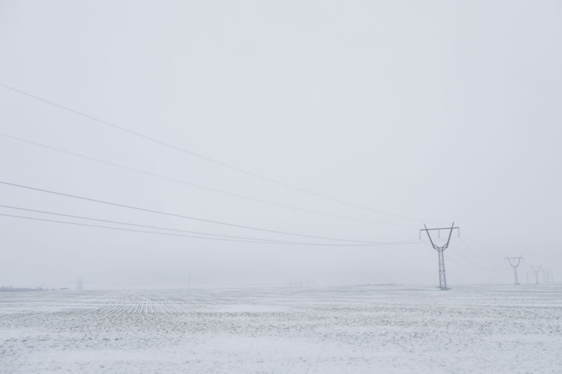 Visibility during winter months causes havoc for civilians.