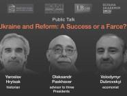 talk on reforms in Ukraine