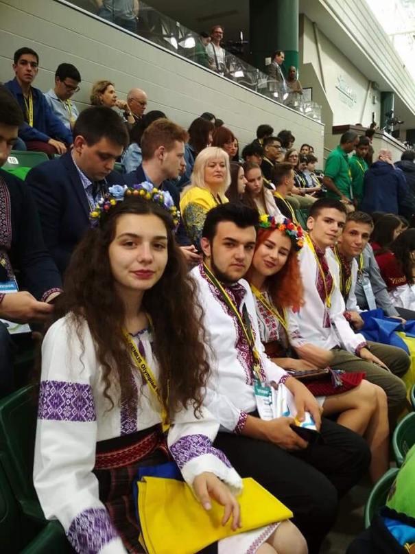 Team Ukraine at Genius Olympiad, Valentyn Frechka FB page