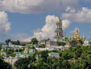 Modern view of the Kyiv-Pechersk Lavra monastery. Photograph: Wikimedia Commons