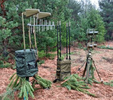 The Anklav electronic warfare system.